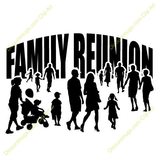Clipart 12445 Family Reunion Family Reun-Clipart 12445 Family Reunion Family Reunion Mugs T Shirts Picture-2