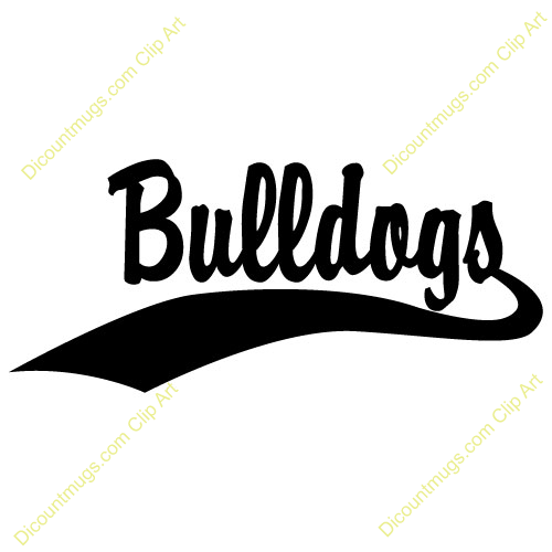 Clipart 14833 Bulldogs Bulldogs Mugs T Shirts Picture Mouse Pads