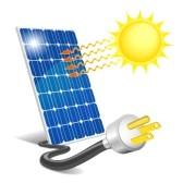clipart 16 Solar energy is a .