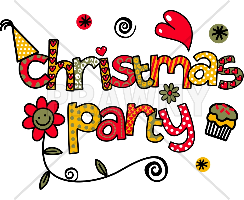 clipart christmas party. Today is the last school day .