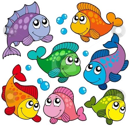 clipart cute fish