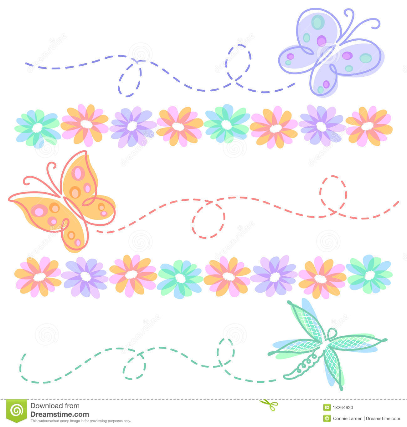 clipart flowers and butterflies-clipart flowers and butterflies-12