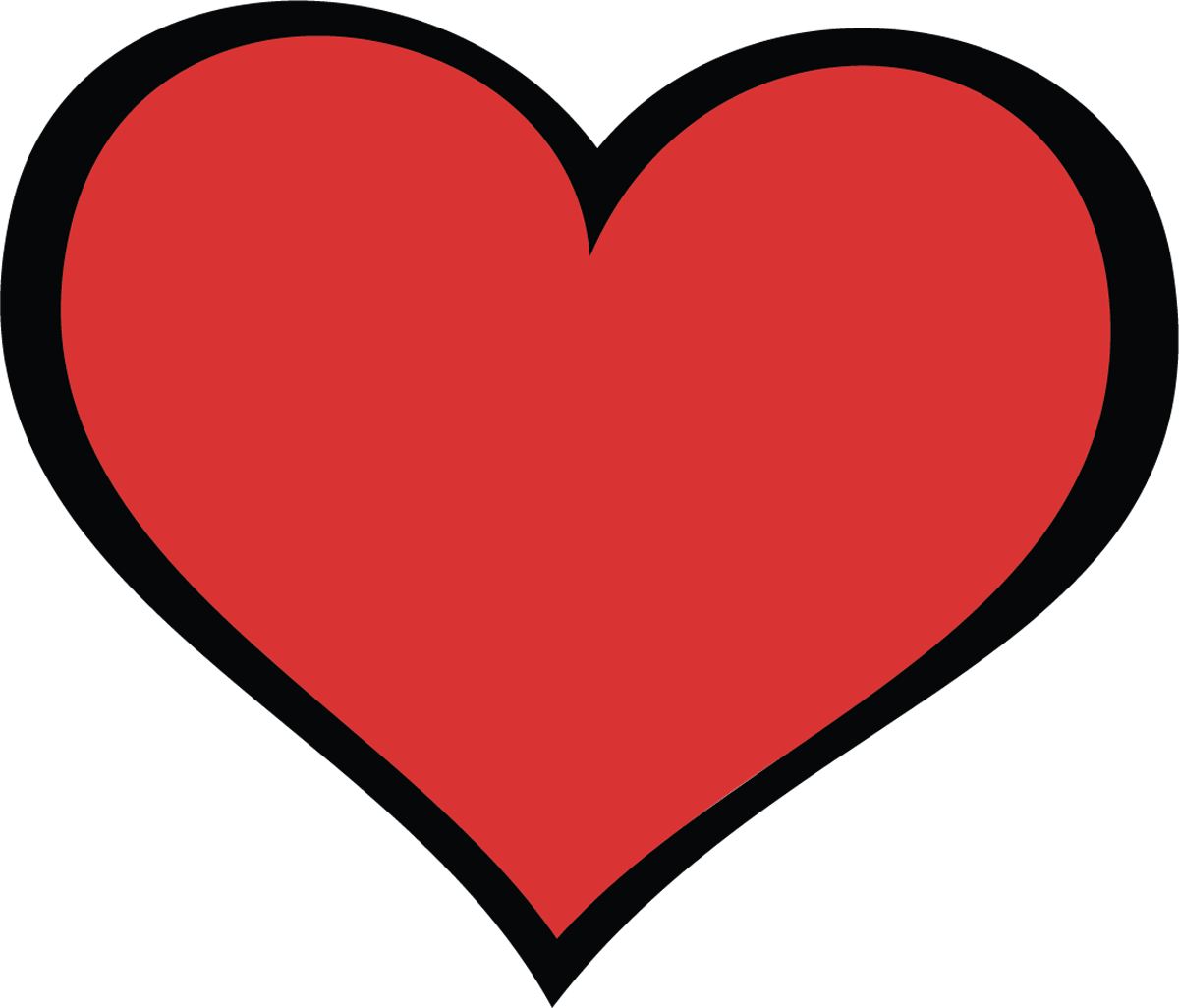 clipart love heart