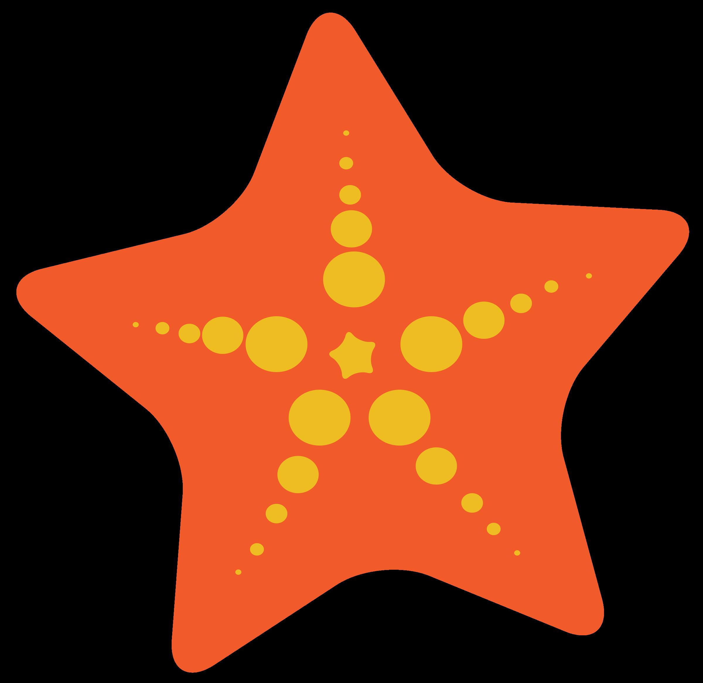 clipart starfish
