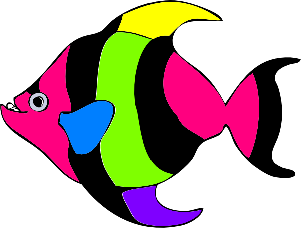 clipart tropical fish