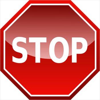... clipart 300pixel size, fr - Free Stop Sign Clip Art