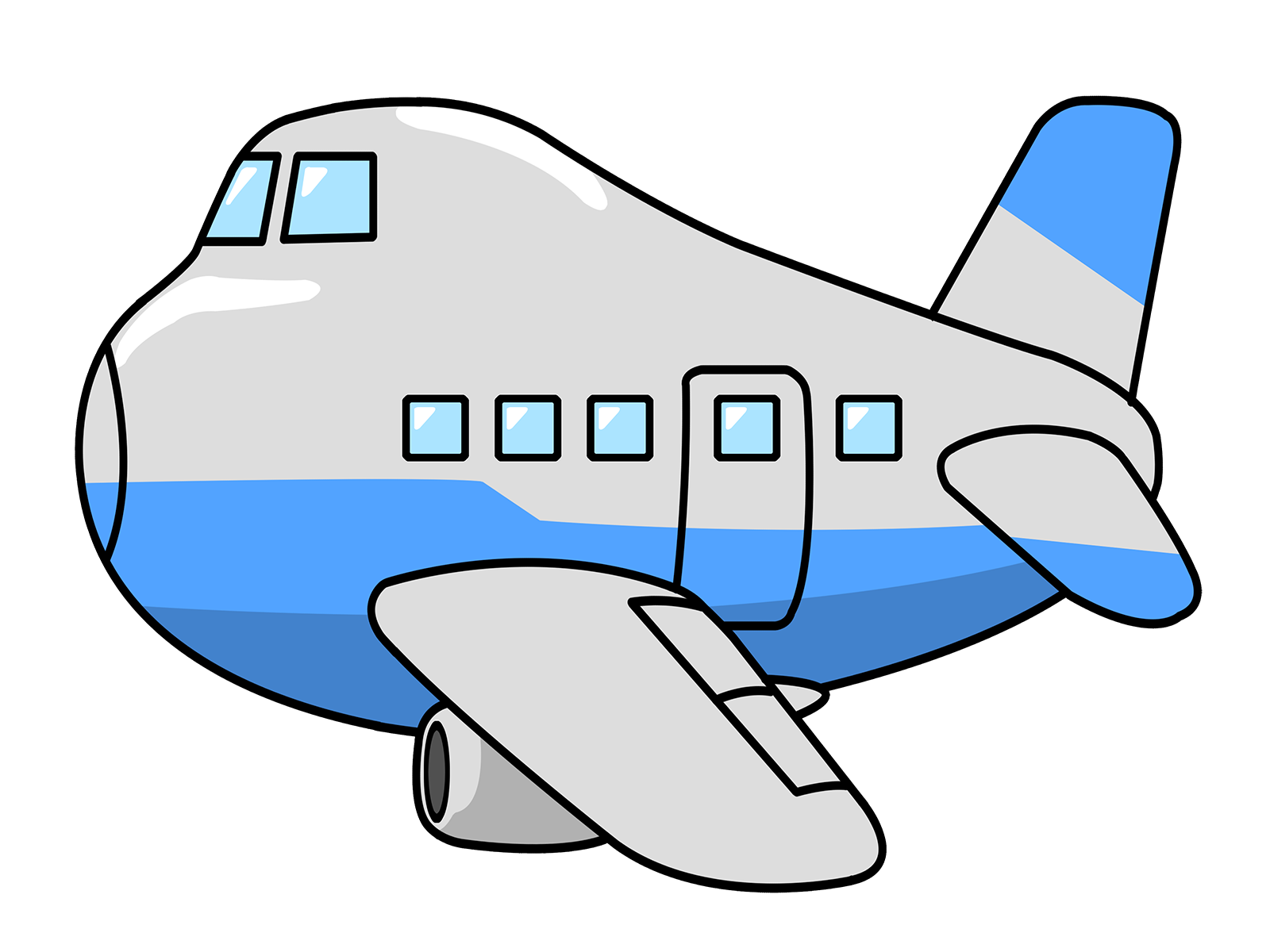 clipart airplane-clipart airplane-2