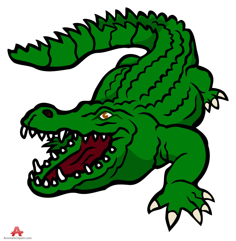 clipart alligator