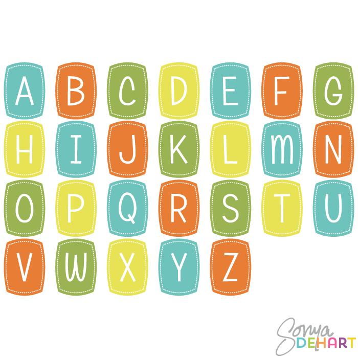Alphabet Clipart For Kids Cli