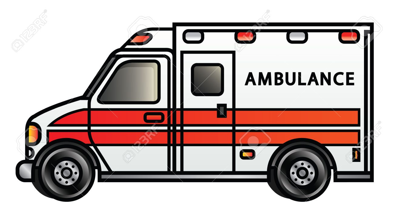 clipart ambulance