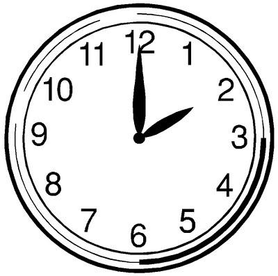47+ Analog Clock Clip Art | ClipartLook