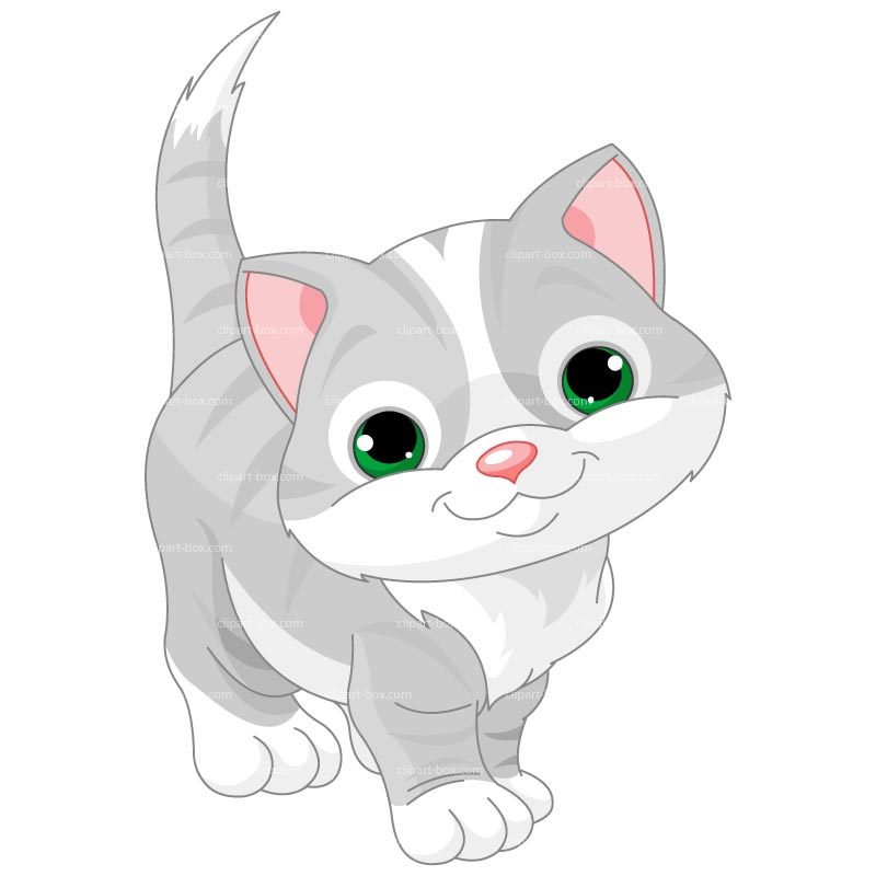 Clipart Baby Cat Royalty Free Vector Design