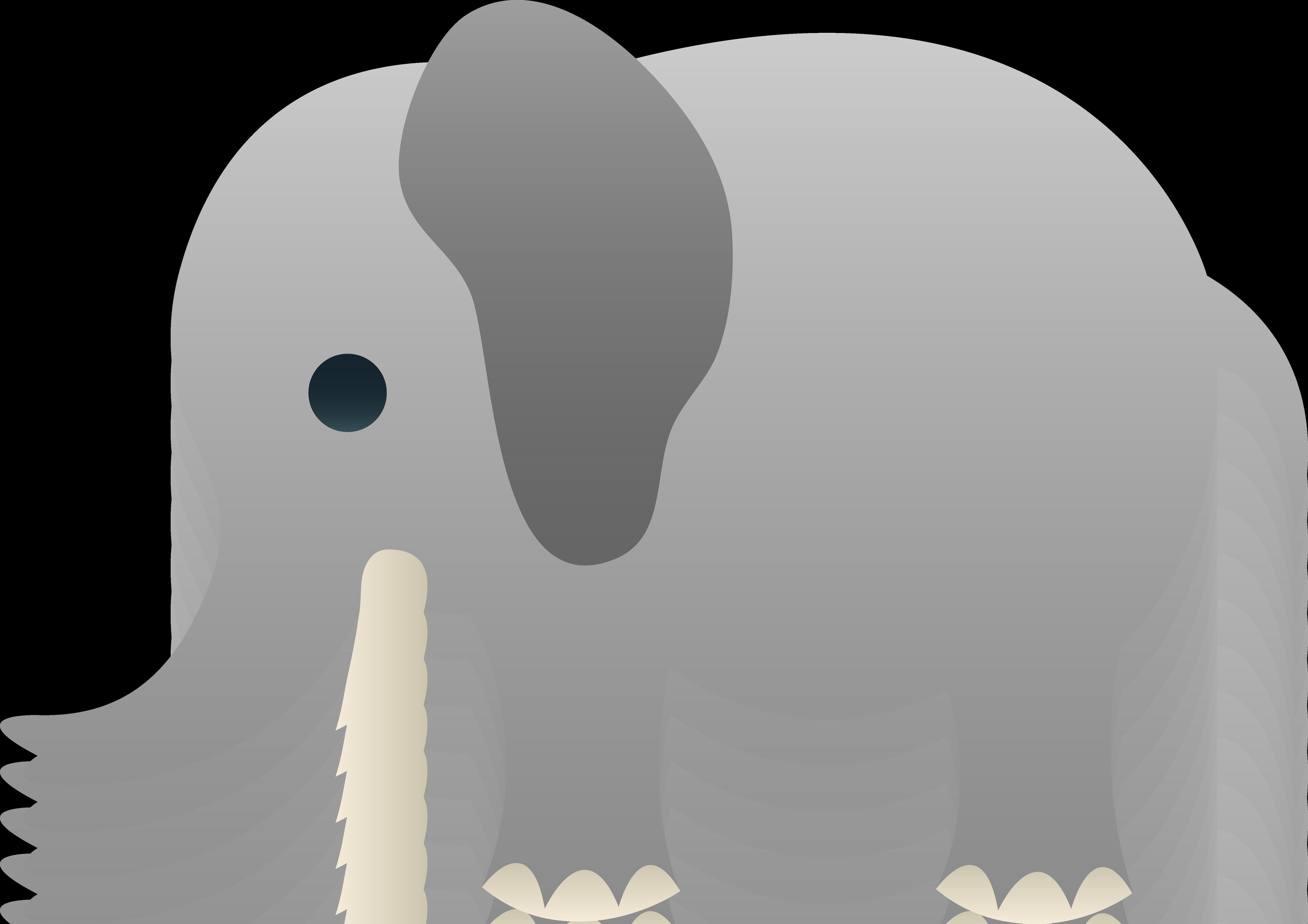 Clipart baby elephant - .