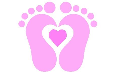 Clipart Baby Feet