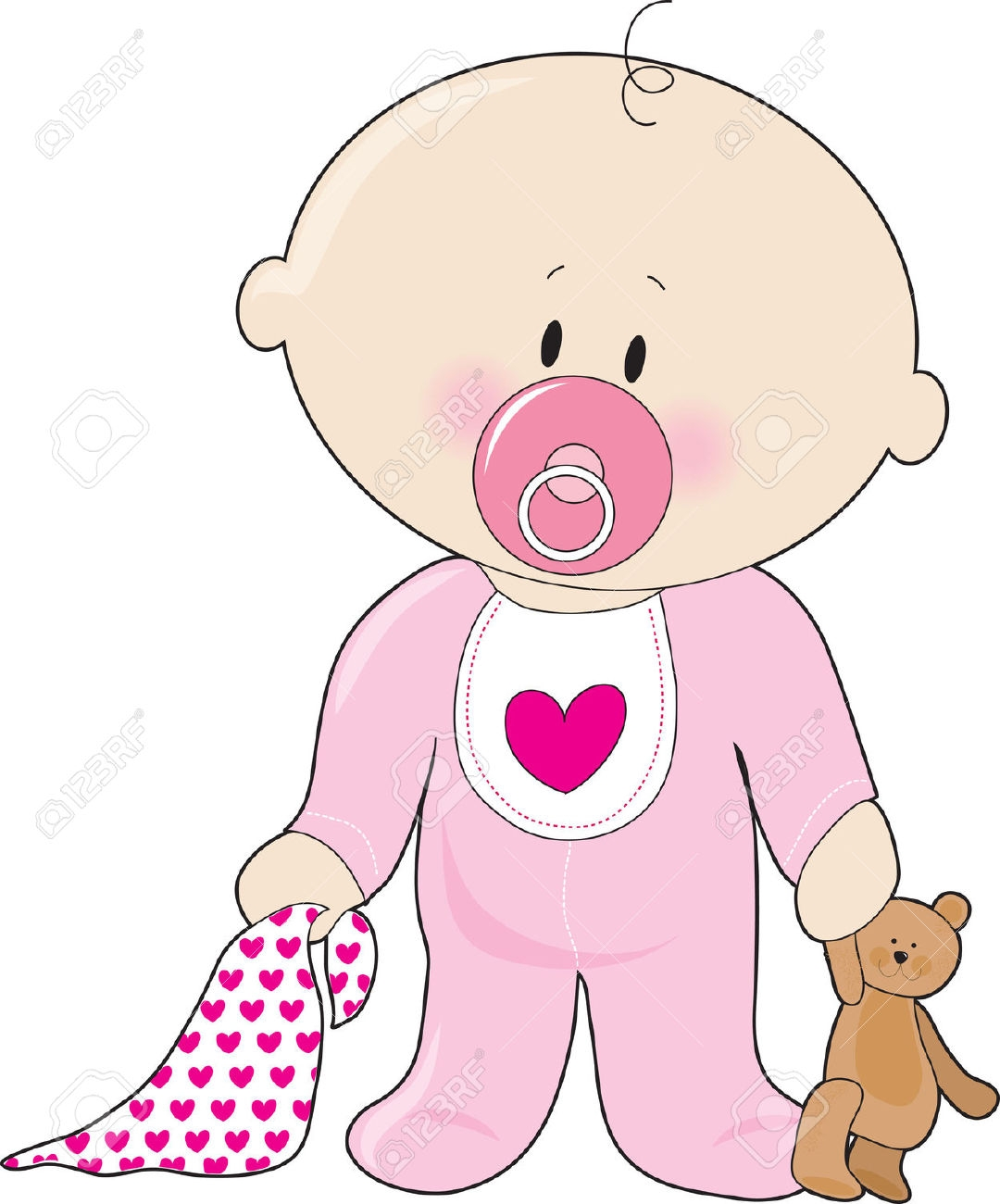 clipart baby girl-clipart baby girl-6
