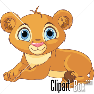 CLIPART BABY LION-CLIPART BABY LION-7