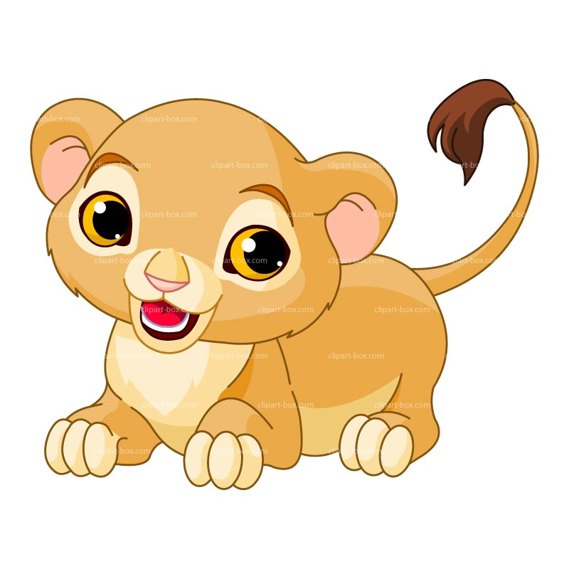 Clipart Baby Lion Playing Royalty Free V-Clipart Baby Lion Playing Royalty Free Vector Design-8