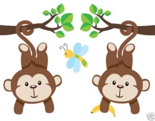 Clipart Baby Monkey Royalty . Monkey Wal-Clipart Baby Monkey Royalty . Monkey Wallpaper Border Decals .-11