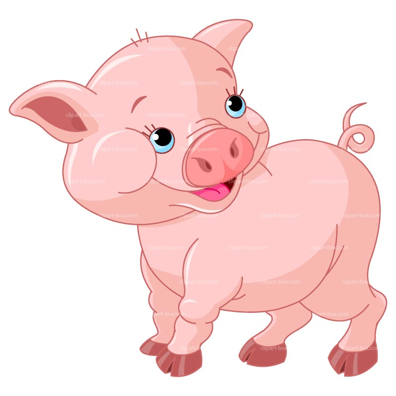 Clipart Baby Pig Royalty Free Vector Design