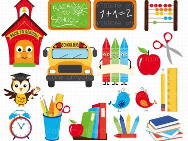 Clipart - Back To School-Clipart - Back To School-15