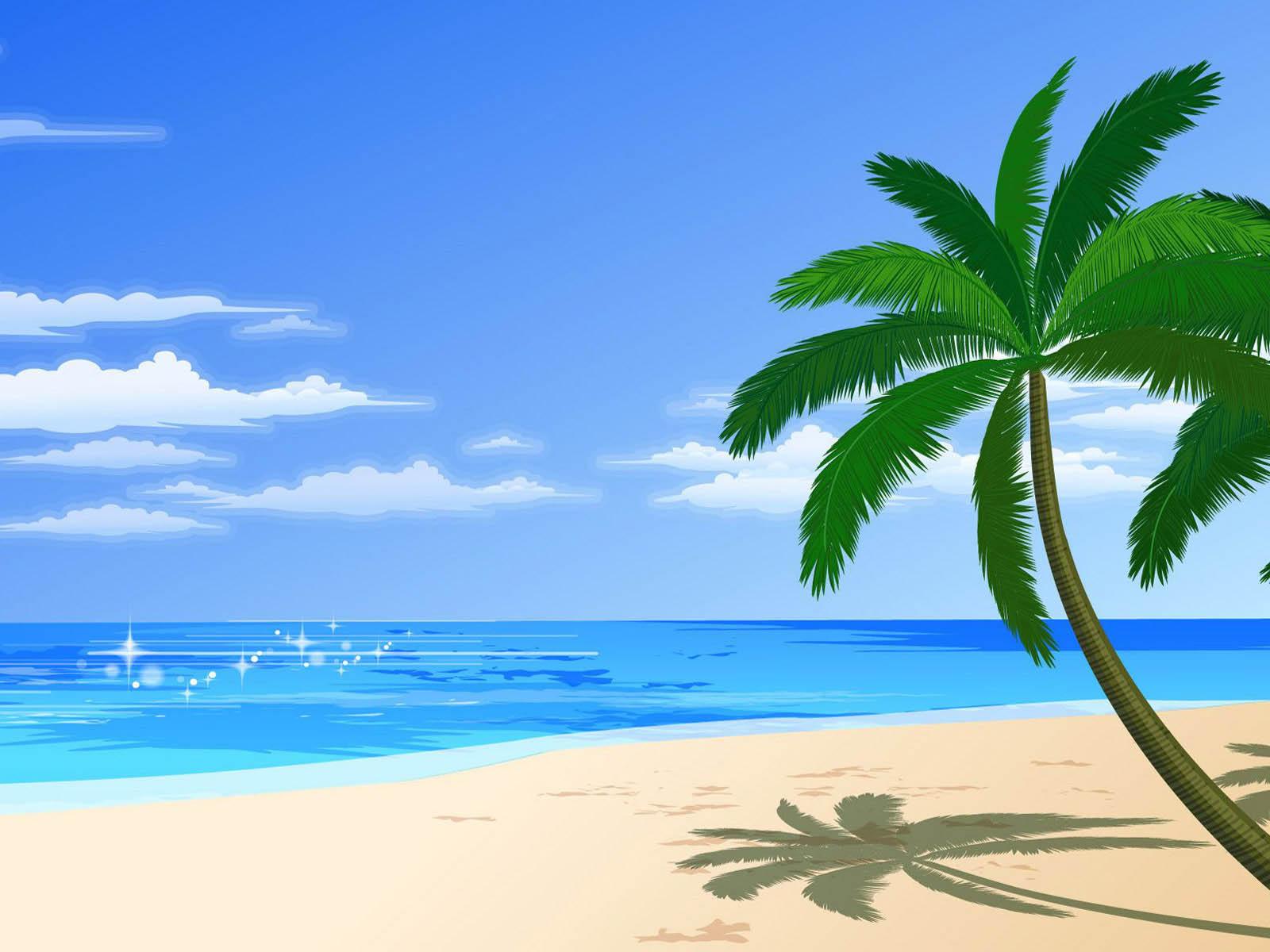 clipart beach