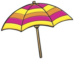 Clipart Beach Umbrella Free .