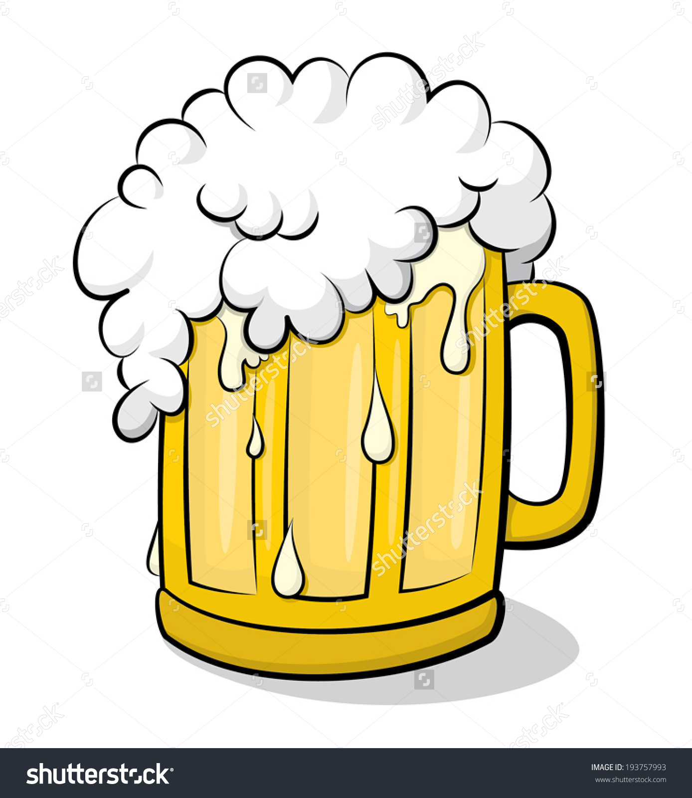 Clipart beer glass - ClipartFest