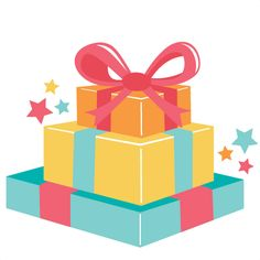 Clipart birthday gift - .