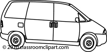 Clipart Black And White Delivery Van Cli-Clipart Black And White Delivery Van Clipart Black And White-13
