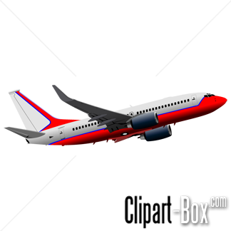 CLIPART BOEING 737 FLYING