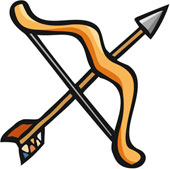 Clipart Bow And Arrow - ... English Exer-Clipart Bow And Arrow - ... English Exercises: .-10