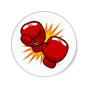 Clipart boxing gloves - .