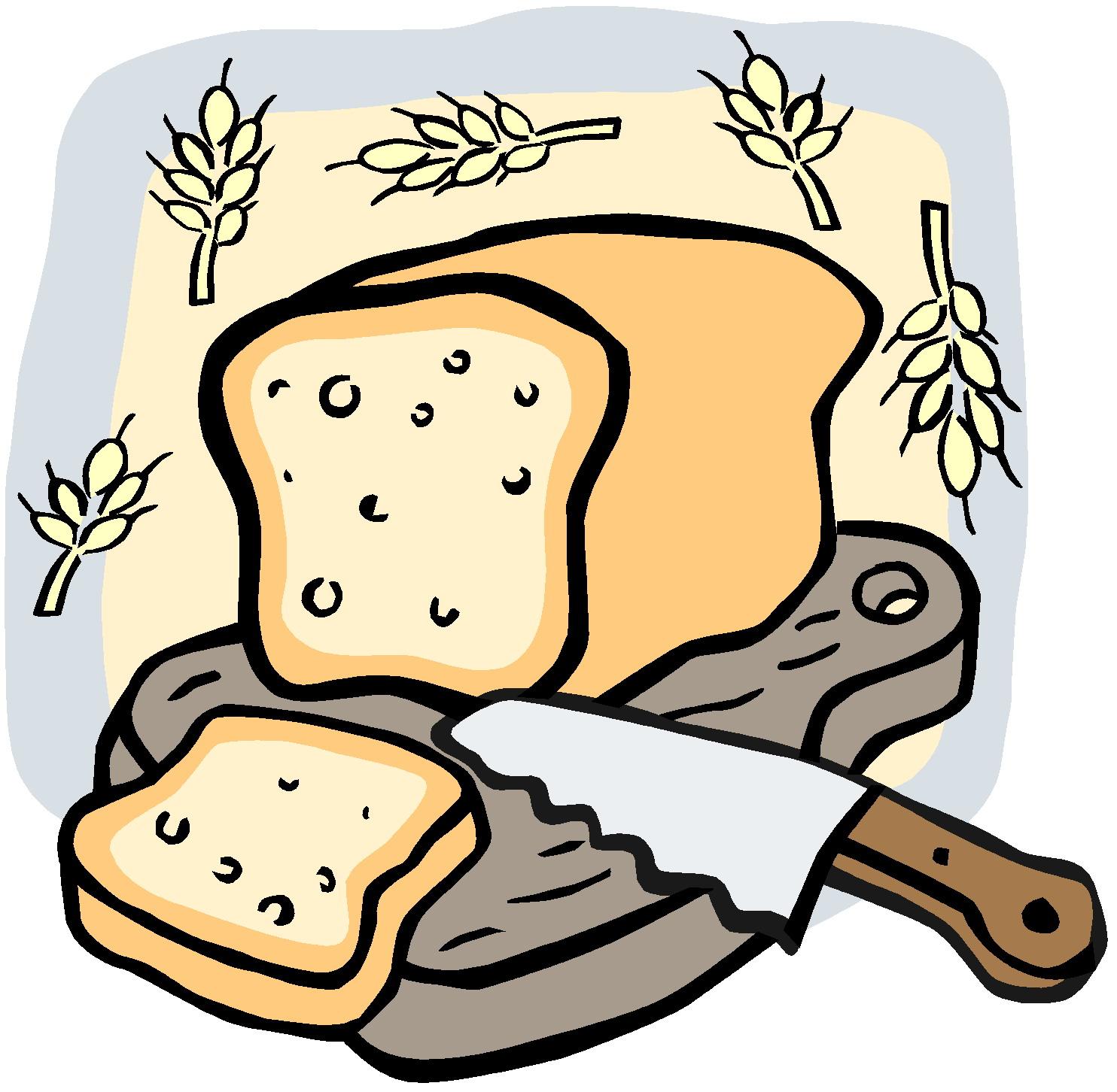 Clipart Bread Sliced Jpg