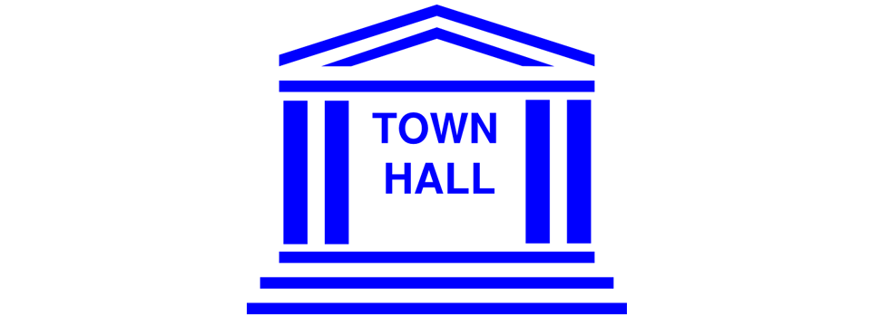 clipart building image advertising Town Hall meeting at St Martin Episcopal Church