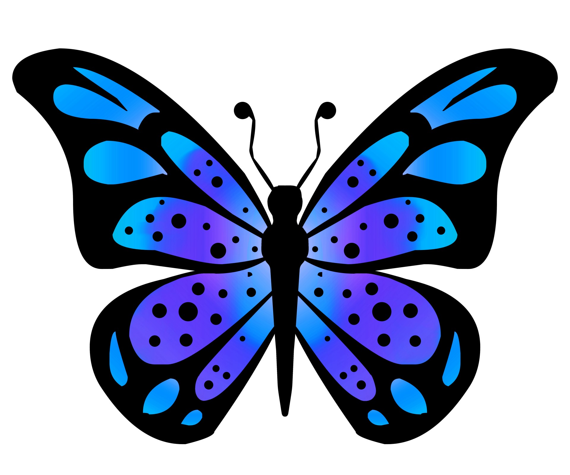 Clipart Butterfly 3 .-Clipart Butterfly 3 .-10