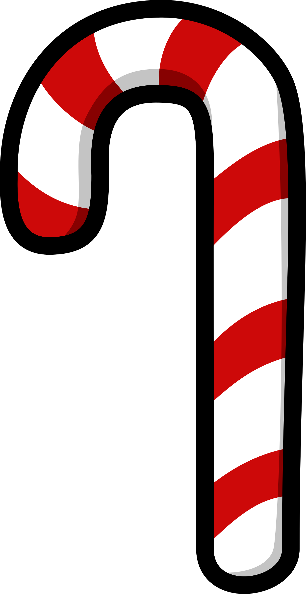 Clipart - Candy Cane .