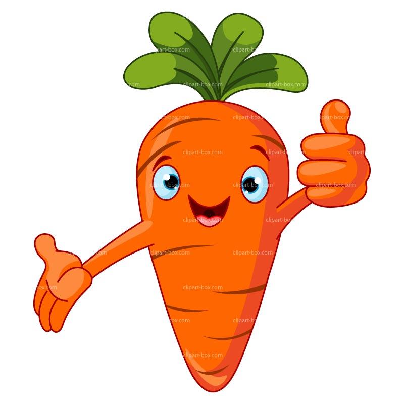 Clipart Carrot Cartoon Style Royalty Fre-Clipart Carrot Cartoon Style Royalty Free Vector Design-14
