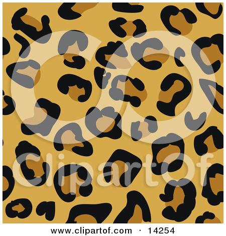 Clipart Cheetah Print ... Or Jaguar Animal Print .