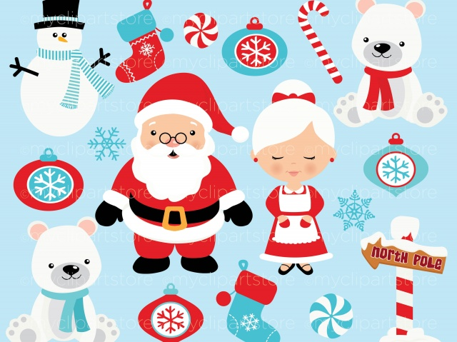 Clipart - Christmas / North Pole-Clipart - Christmas / North Pole-0