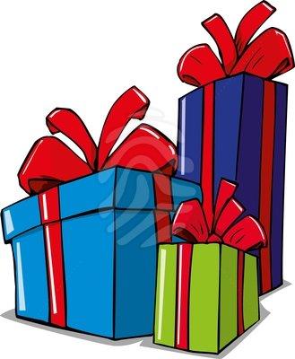 Clipart Christmas Present ... parcel clipart