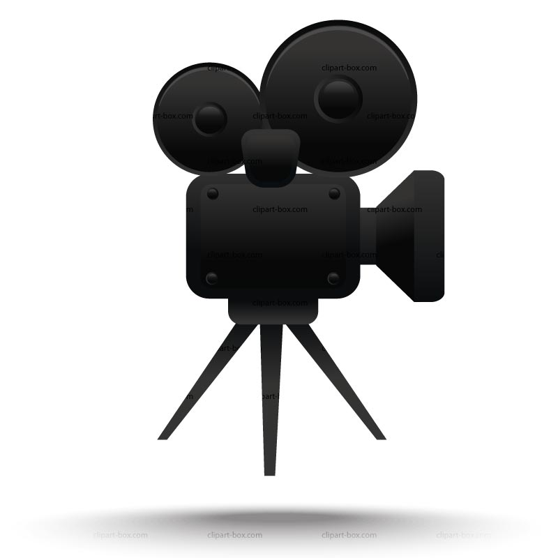 Clipart Cinema Camera Royalty Free Vector Design