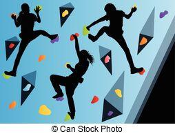 Clipart climbing wall - ClipartFest