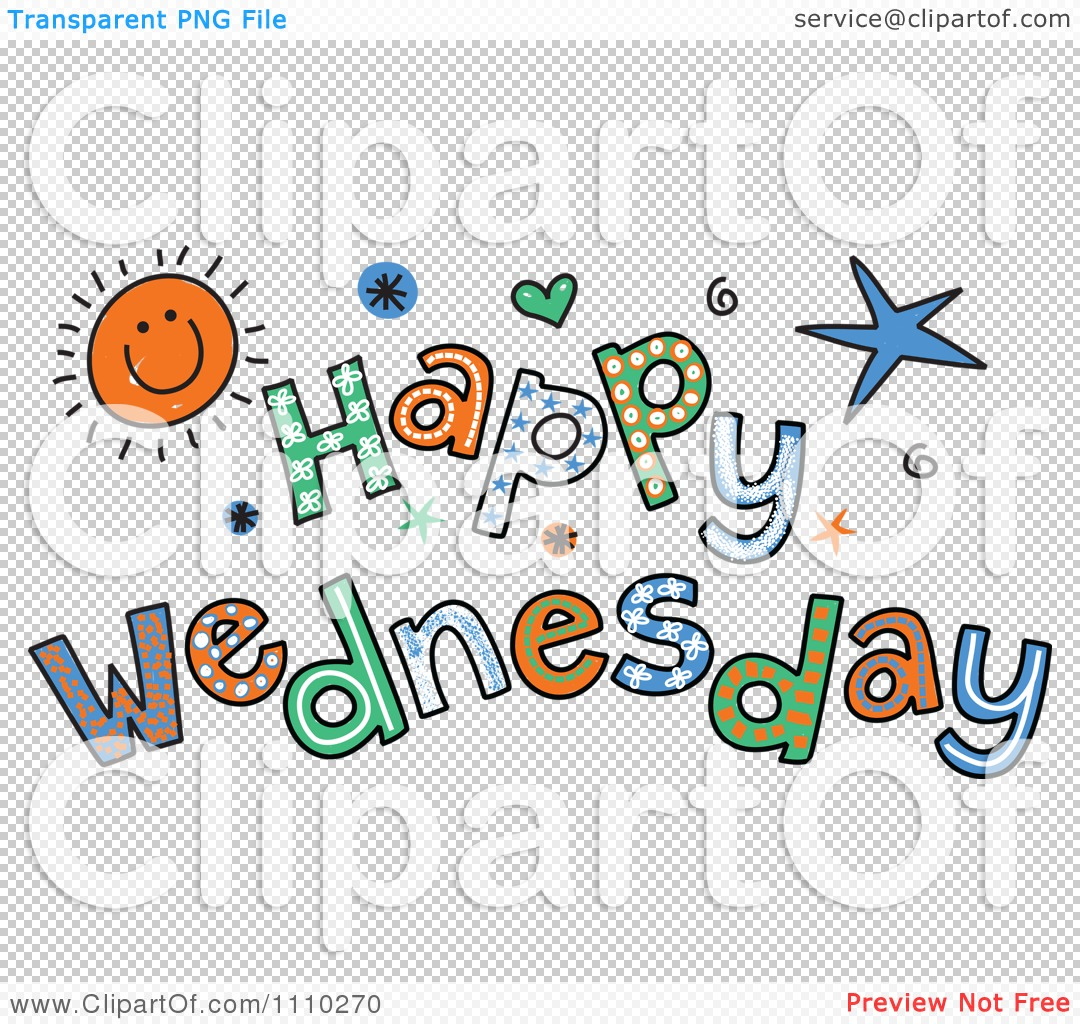 Clipart Colorful Sketched .