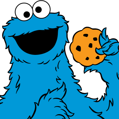 Clipart cookie monster .