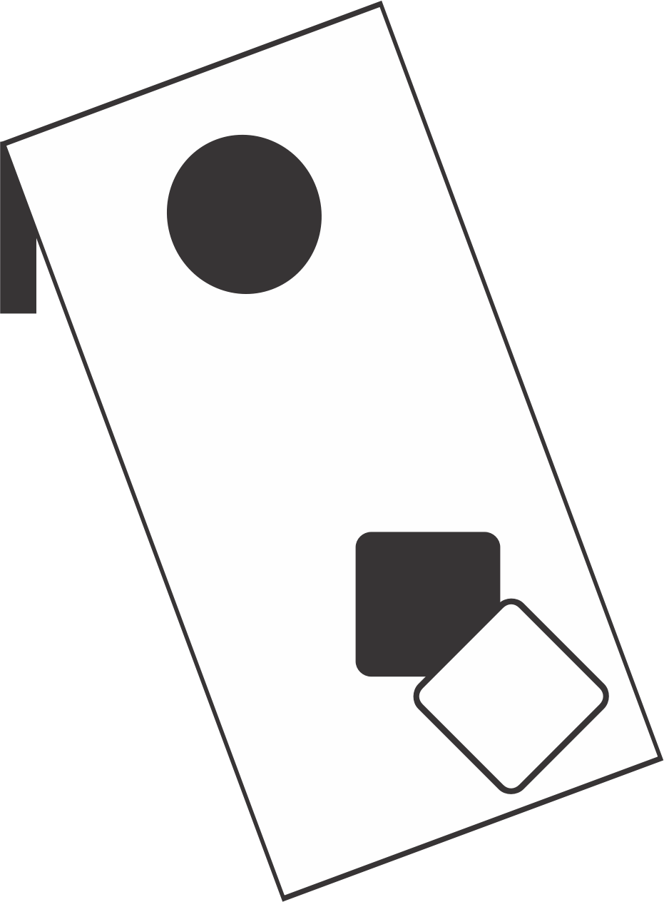 Clipart - Corn Hole ...