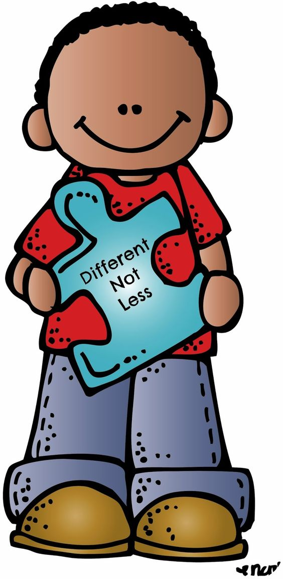 Clipart Created By Melonheadz Illustrati-Clipart created by Melonheadz Illustrating in honor of Autism Awareness month.-18