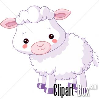 CLIPART CUTE LAMB-CLIPART CUTE LAMB-16