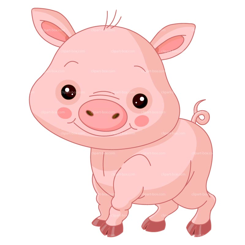 Clipart Cute Pig Royalty Free Vector Des-Clipart Cute Pig Royalty Free Vector Design-2