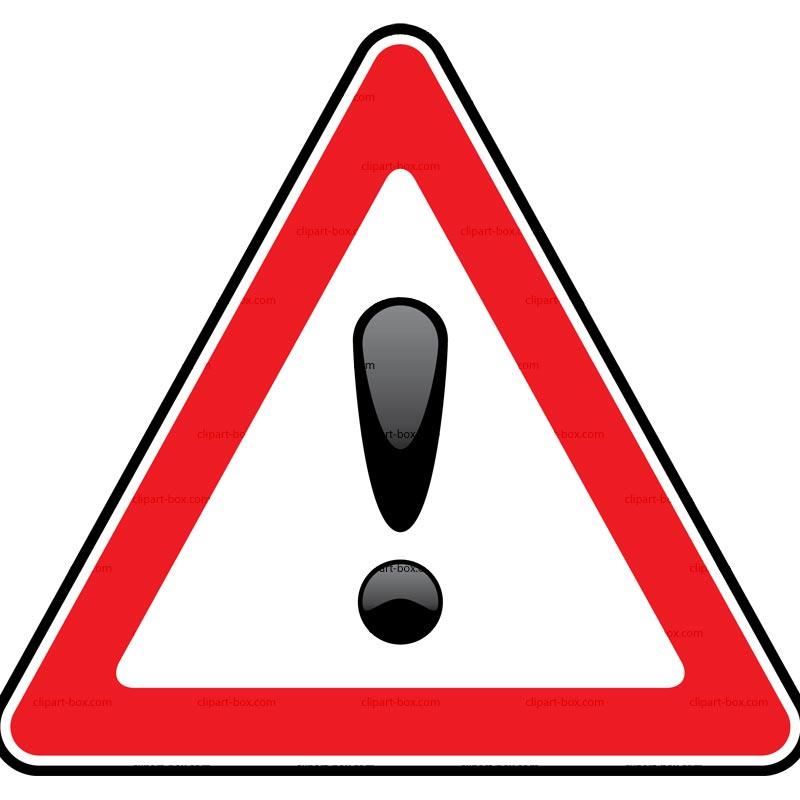 Clipart Danger Sign Royalty Free Vector Design