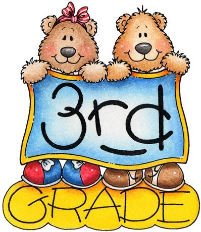 clipart decpoupage Third Grade